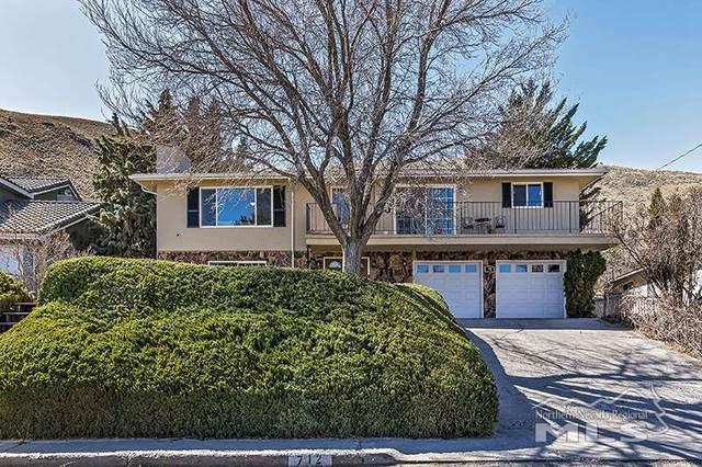 712 Terrace St, Carson City, NV 89703 (MLS #200002482) :: Chase International Real Estate