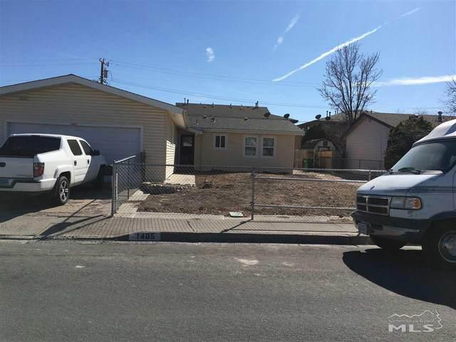 1405 Goldfield, Carson City, NV 89701 (MLS #200002539) :: Chase International Real Estate