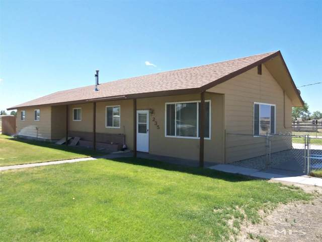 235 Miners, Fallon, NV 89406 (MLS #200003589) :: The Mike Wood Team