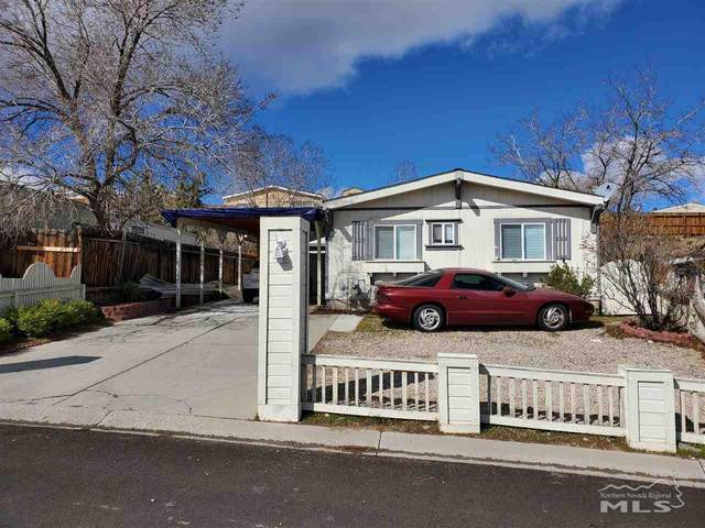 415 Traci Lane, Moundhouse, NV 89706 (MLS #200003904) :: Fink Morales Hall Group