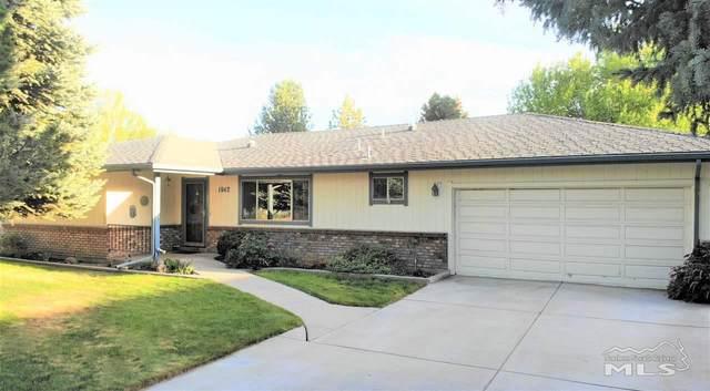 1642 County Road, Minden, NV 89423 (MLS #200005700) :: Chase International Real Estate