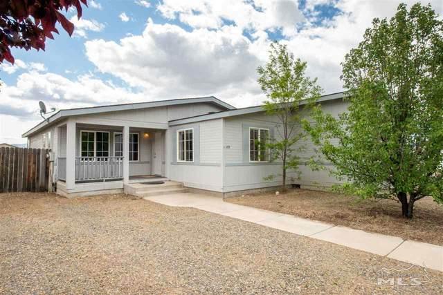 187 Rose Peak Rd, Dayton, NV 89403 (MLS #200006042) :: Chase International Real Estate