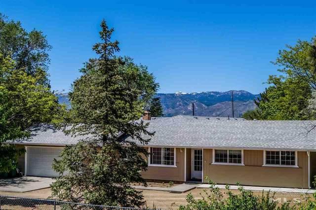 2135 N Chukar Dr, Washoe Valley, NV 89704 (MLS #200006486) :: NVGemme Real Estate