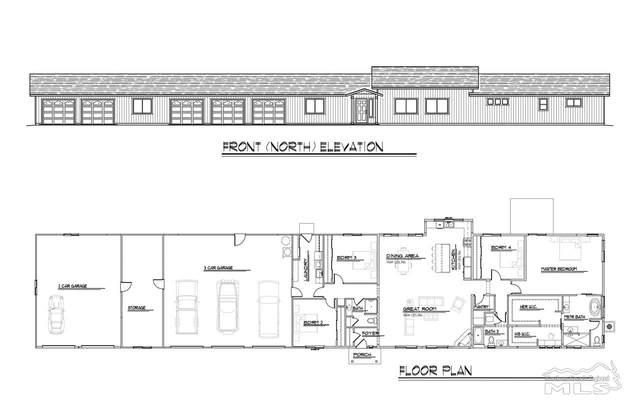 736 Lipizzan (A Portion Of 1931 Sorrel), Gardnerville, NV 89410 (MLS #200007138) :: NVGemme Real Estate