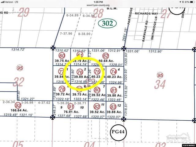 2130276 Highl Highlands, Fernley, NV 89408 (MLS #200007515) :: Chase International Real Estate