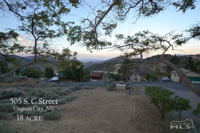 505 S C St, Virginia City, NV 89440 (MLS #200007789) :: The Mike Wood Team
