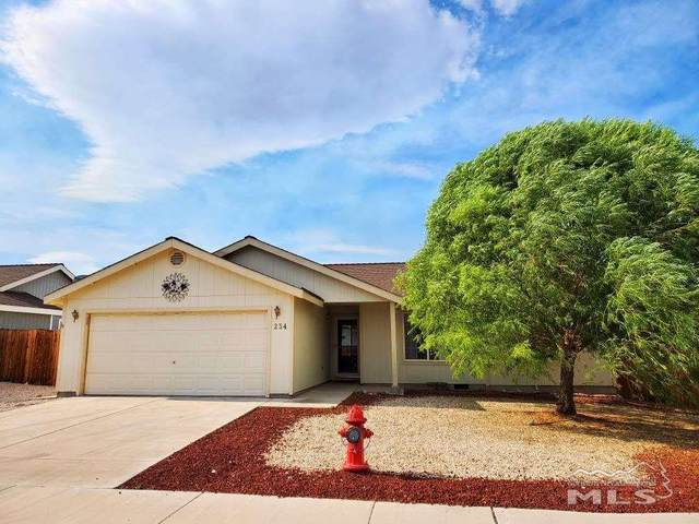 234 Jenny's Lane, Fernley, NV 89408 (MLS #200008591) :: Chase International Real Estate