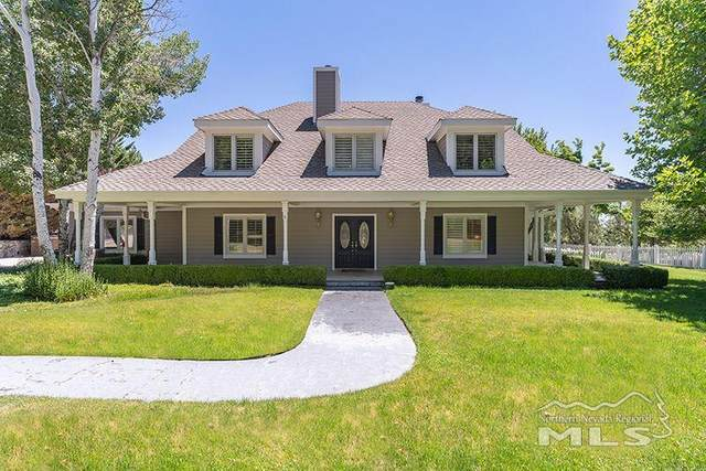186 Centennial Drive, Genoa, NV 89411 (MLS #200008709) :: Ferrari-Lund Real Estate