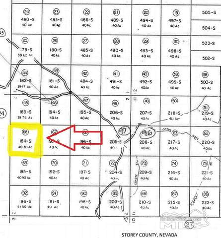Lot 184S-40S Nw4ne4-S2/17N/21E, Reno, NV 89521 (MLS #200009253) :: The Craig Team