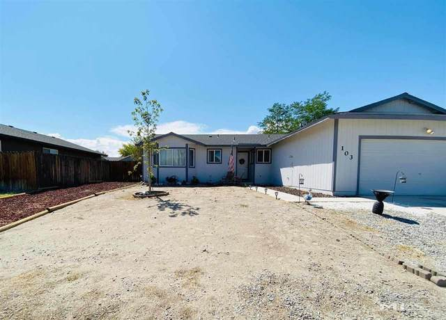 103 Michaelsen Drive, Fernley, NV 89408 (MLS #200010886) :: Fink Morales Hall Group