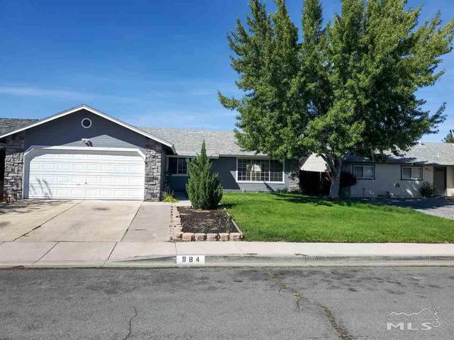 984 Mountain Park Drive, Carson City, NV 89706 (MLS #200012403) :: Chase International Real Estate