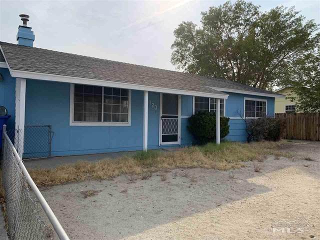 120 Cedar Street, Hawthorne, NV 89415 (MLS #200014592) :: NVGemme Real Estate