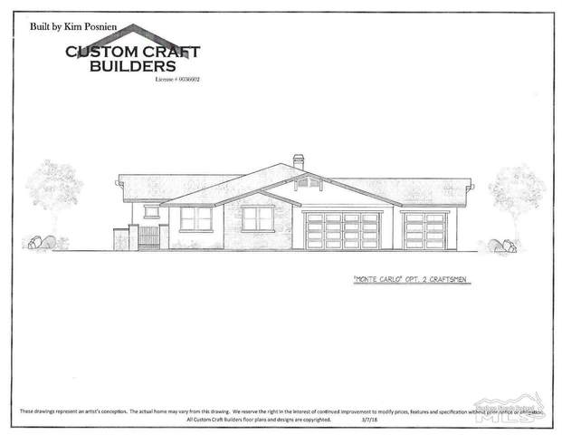 1791 Bella Casa Dr. Lot #11, Minden, NV 89423 (MLS #200014940) :: Chase International Real Estate