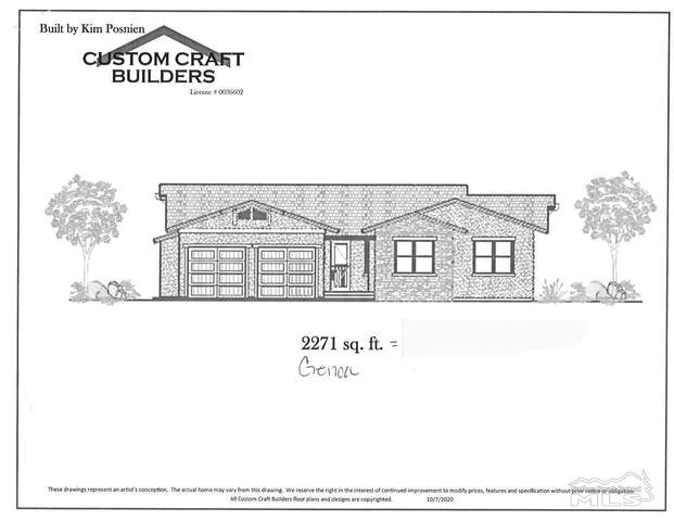 1793 Bella Casa Drive Lot #10, Minden, NV 89423 (MLS #200014944) :: Chase International Real Estate
