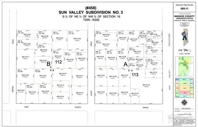 5437 Sun Valley Blvd, Sun Valley, NV 89433 (MLS #200015626) :: Ferrari-Lund Real Estate