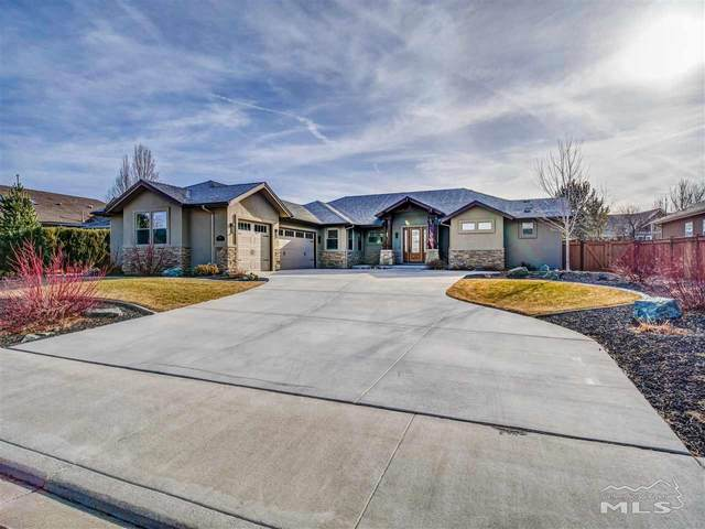 1023 Rocky Terrace Drive, Gardnerville, NV 89460 (MLS #210000459) :: The Mike Wood Team