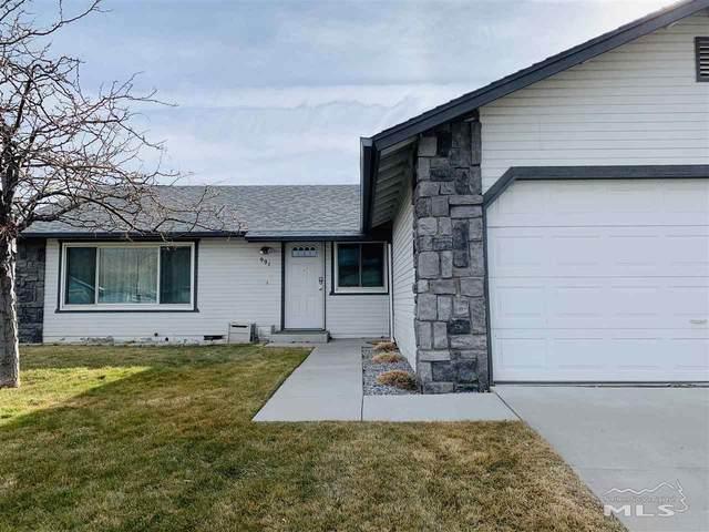 991 Slide Mountain, Carson City, NV 89706 (MLS #210000782) :: Ferrari-Lund Real Estate