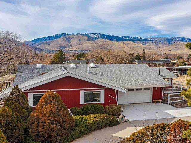 4184 North View Dr, Carson City, NV 89701 (MLS #210000828) :: Chase International Real Estate