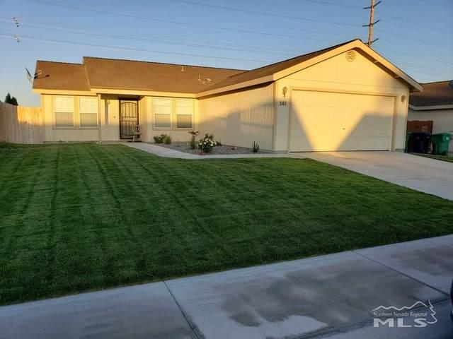 581 Spur Way, Fernley, NV 89408 (MLS #210000950) :: NVGemme Real Estate