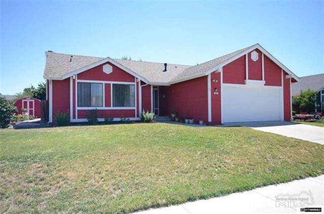 1667 Johns Circle, Fernley, NV 89408 (MLS #210000987) :: The Mike Wood Team