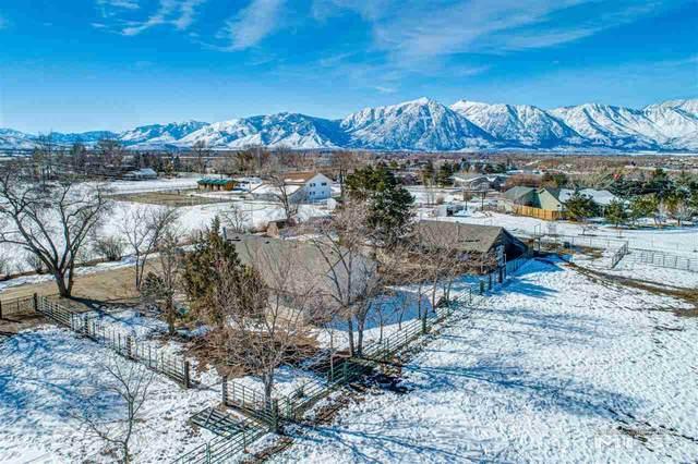 1136 East Valley Road, Gardnerville, NV 89410 (MLS #210001480) :: Vaulet Group Real Estate