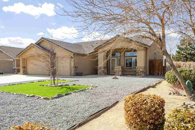 111 Brassie Ct, Yerington, NV 89447 (MLS #210001717) :: Chase International Real Estate