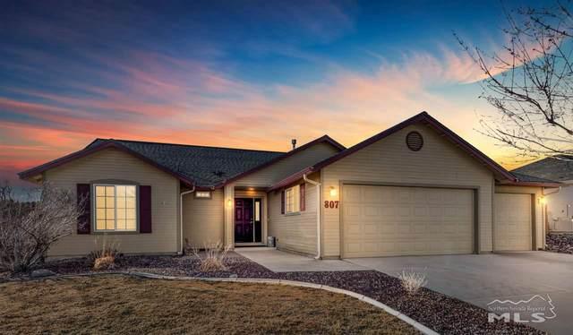 807 Mariposa Road, Dayton, NV 89403 (MLS #210001968) :: NVGemme Real Estate