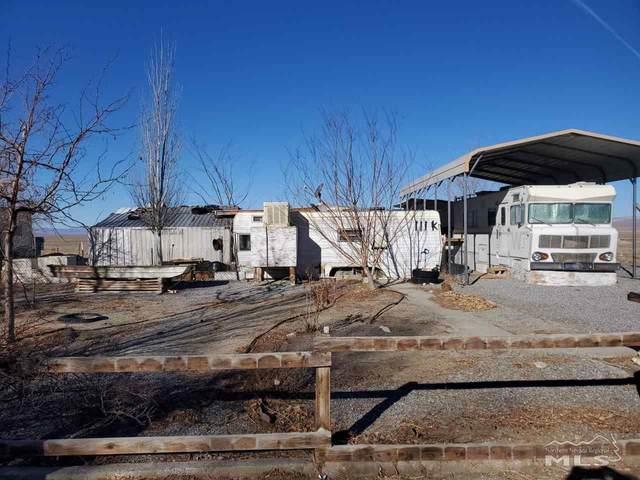 109 & 111 K Avenue, Gabbs, NV 89409 (MLS #210002003) :: Theresa Nelson Real Estate