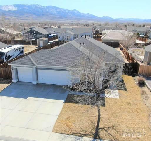 1121 Cheatgrass Drive, Dayton, NV 89403 (MLS #210002222) :: Chase International Real Estate