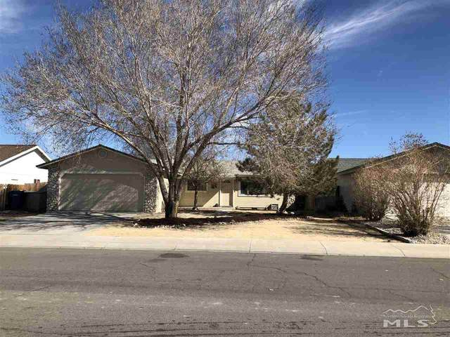 210 Rosewood Drive, Fernley, NV 89408 (MLS #210002225) :: Chase International Real Estate