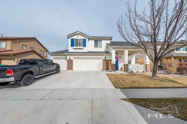 3828 Early Dawn Dr, Sparks, NV 89436 (MLS #210002315) :: NVGemme Real Estate
