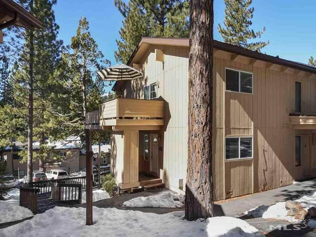 321 Ski Way #65, Incline Village, NV 89451 (MLS #210002332) :: The Mike Wood Team