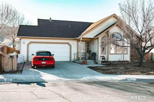 212 Windtree Circle, Carson City, NV 89701 (MLS #210002382) :: NVGemme Real Estate