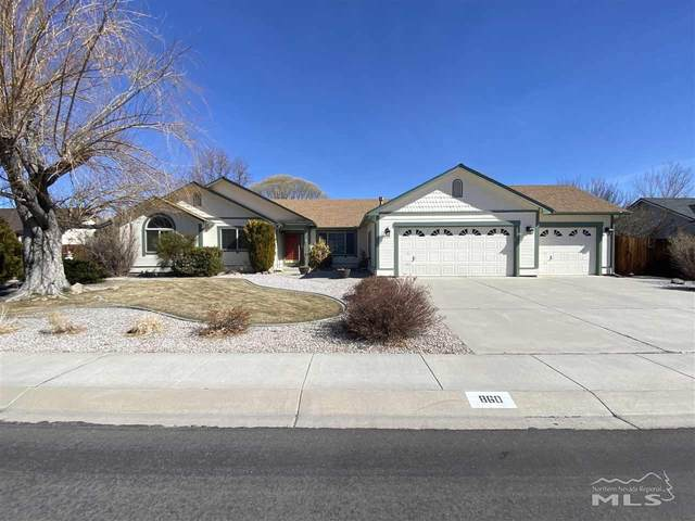 860 Mahogany Dr, Minden, NV 89423 (MLS #210002461) :: Chase International Real Estate