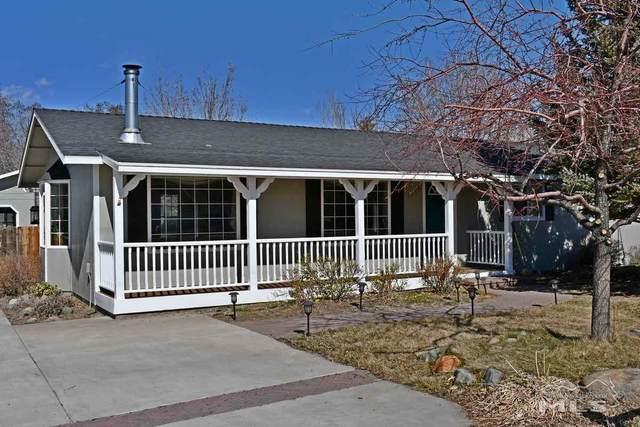 1406 Topaz Lane, Gardnerville, NV 89460 (MLS #210002474) :: NVGemme Real Estate