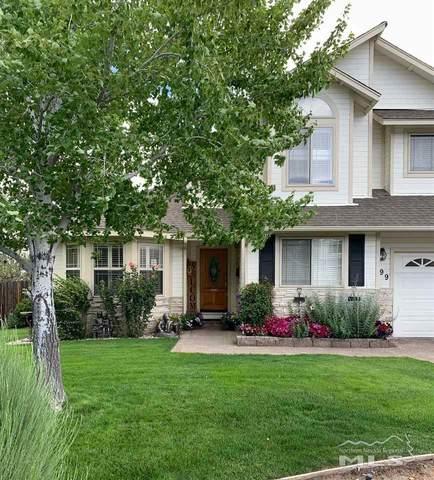 399 Brittiany Ct, Carson City, NV 89701 (MLS #210002840) :: Chase International Real Estate