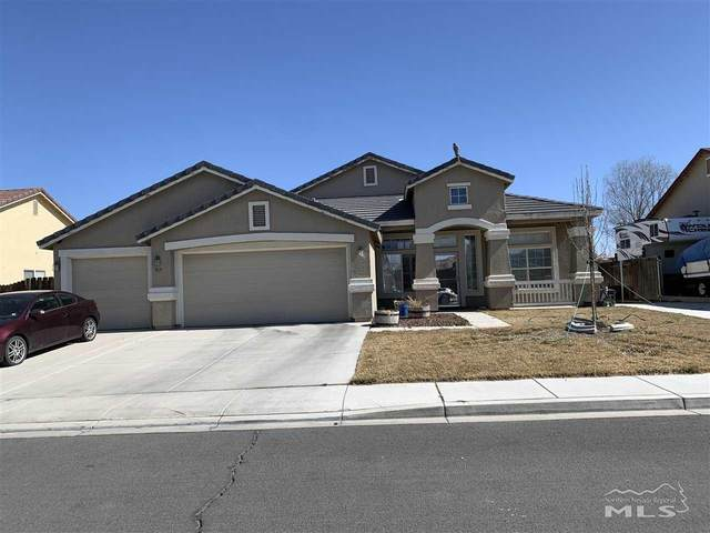 919 Desert Breeze Way, Fernley, NV 89408 (MLS #210002852) :: Colley Goode Group- eXp Realty
