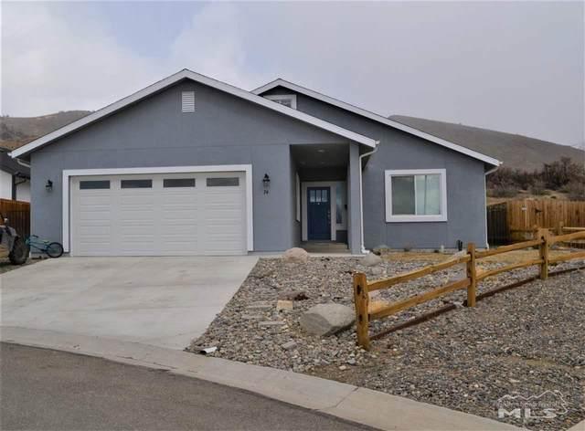 74 Conner Wy, Gardnerville, NV 89410 (MLS #210003154) :: Chase International Real Estate