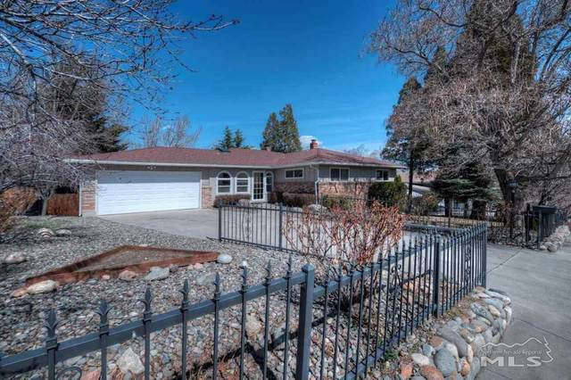 345 Hillcrest, Reno, NV 89509 (MLS #210003415) :: The Mike Wood Team