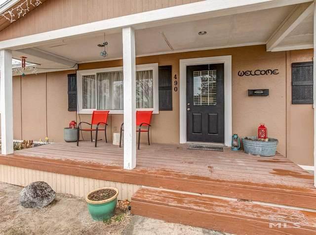 490 S Russell Street, Fallon, NV 89406 (MLS #210003791) :: NVGemme Real Estate