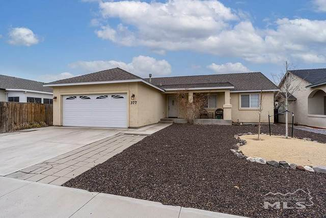 377 Ben's Way, Fernley, NV 89408 (MLS #210003834) :: Morales Hall Group