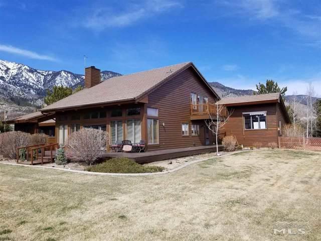 1220 Jones Ranch Rd, Gardnerville, NV 89460 (MLS #210004261) :: NVGemme Real Estate