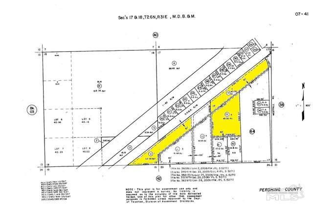 T26 R31 Sec 17 & 18, Lovelock, NV 89419 (MLS #210004329) :: NVGemme Real Estate