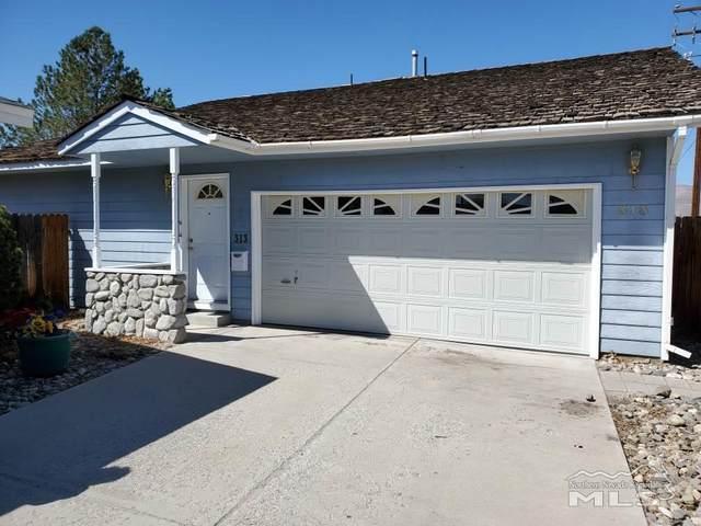 313 S West St., Yerington, NV 89447 (MLS #210004380) :: Chase International Real Estate