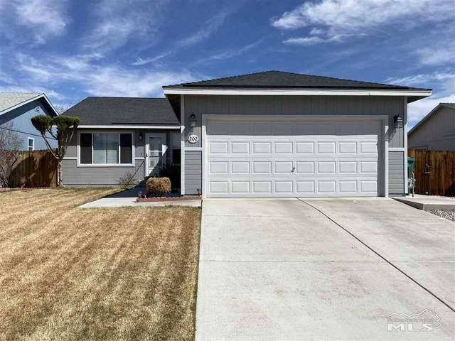 202 Emigrant, Fernley, NV 89408 (MLS #210004382) :: Chase International Real Estate