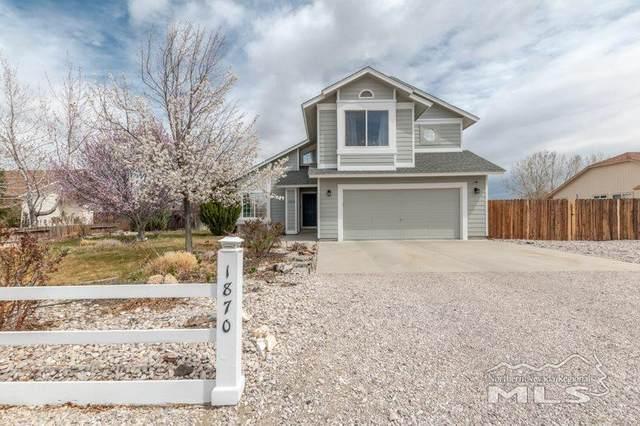 1870 Ryan Way, Fallon, NV 89406 (MLS #210004585) :: NVGemme Real Estate