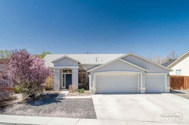 377 Cook Way, Fernley, NV 89408 (MLS #210004812) :: NVGemme Real Estate