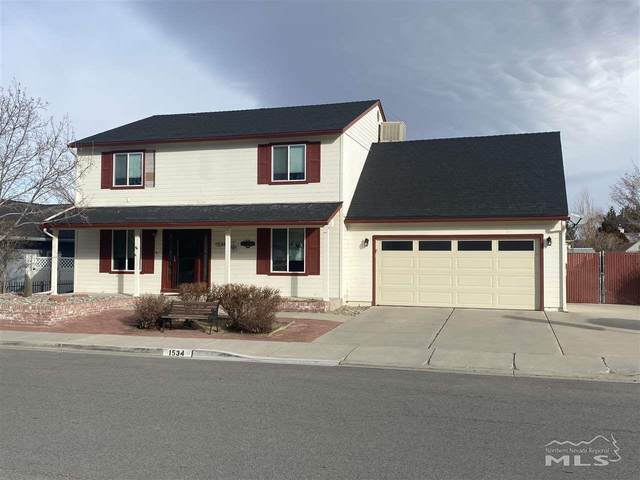1534 Sonoma Street, Carson City, NV 89701 (MLS #210004858) :: The Mike Wood Team