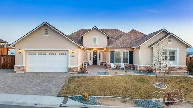 540 Horizon Ridge Rd, Sparks, NV 89441 (MLS #210004951) :: Morales Hall Group