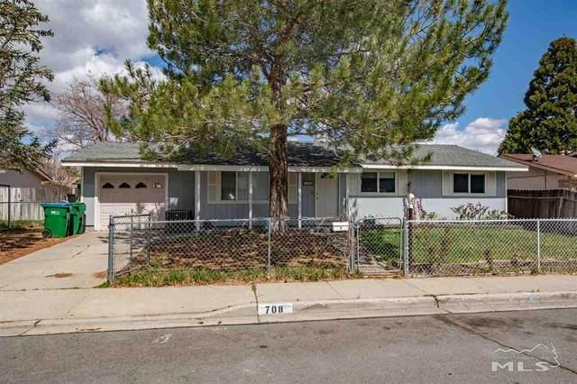 708 Jackson Way, Carson City, NV 89701 (MLS #210004992) :: Morales Hall Group